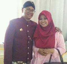 Eko Wiratno dan Keluarga, Mengucapkan Selamat Hari Raya Idul Fitri 1441 H.