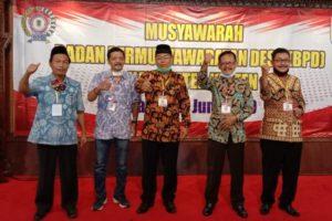 Anang Budi Wibawa dari Tulung Ketua FK BPD Klaten Terpilih, Triyono Asal Wedi Sekretaris.
