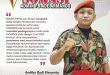 Fitnah Muhammadiyah, KOKAM Somasi Ade Armando.