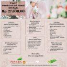 PRAKTIS WO : Paket Pernikahan New Normal 100 pack Rp. 27,5 Juta.