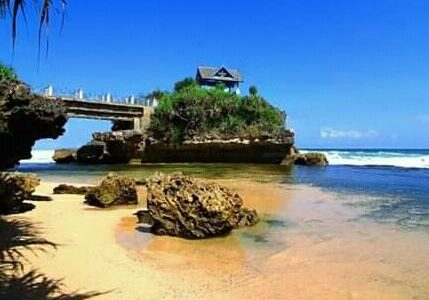 Pasca Corona Berakhir, Mari Berlibur ke Pulau Jumino di Gunung Kidul-DIY.