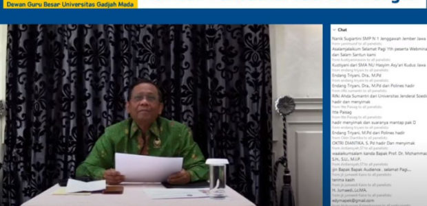 Mahfud MD: Penegakan Hukum dan Rekrutmen Politik Perlu Diperbaiki.