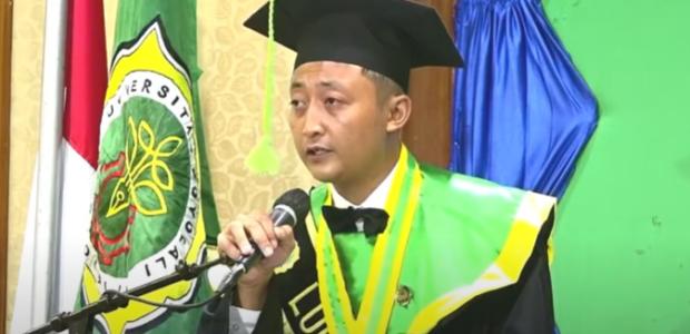 Mengenal dari dekat Asnan Adib, S.P Wisudawan Terbaik Universitas Boyolali Tahun 2020.