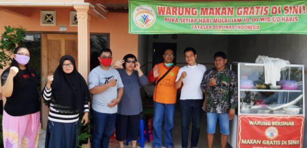 Yayasan Bersinar Dirikan Warung Makan Gratis di Gatak Tuan-Gemblegan-Kalikotes-Klaten.