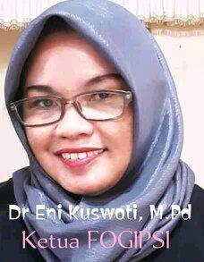 Ketua FOGIPSI, Dr Eni Kuswati Ucapkan Selamat Hari Guru Nasional.