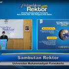 Dr. Ns Jebul Suroso, SKp , MKep Pimpin Universitas Muhammadiyah Purwokerto.