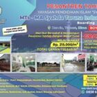 Mari Berwakaf dan Membangun Pesantren Tahfidz Dengan Wakaf Tunai Mulai Rp. 215.000/meter.