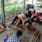 Sholeh Rohmadi, Mahasiswa Universitas Boyolali : Pengolahan Sumber Daya Alam Bambu Menjadi Kerajian