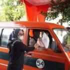 SEBARKAN VIRUS KEBAIKAN, LKP MATEMATIKA INDONESIA GELAR BAKSOS PEDULI SOPIR ANGKUTA DI WONOGIRI, JAWA TENGAH
